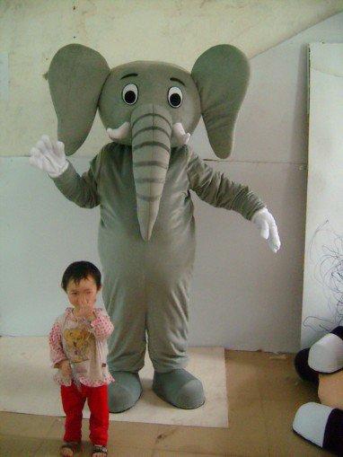 Doll Clothing People Wear Cartoon Elephant Show Ads Like Walking Doll Costume Shopping Promotions Mascot Costume