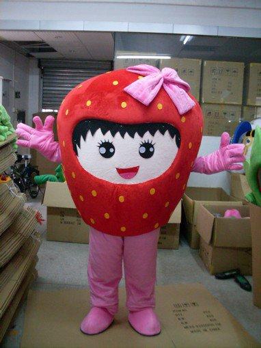 Strawberry Cartoon Dolls Cartoon Clothing Performance Clothing Cartoon Characters Show Cartoon Doll Clothing Welcome Mascot Costume