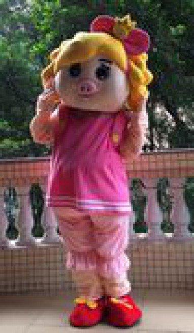Cartoon Costumes Walking Cartoon Dolls Cartoon Doll Dress Performance Props Plush Cartoon Princess Fifi Mascot Costume