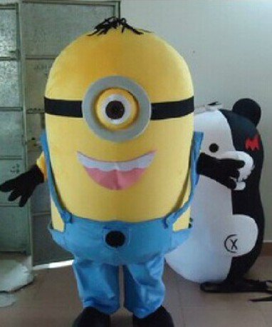 Despicable Me Despicable Me Little Yellow Man Huang Doudou Doll Clothes Doll Clothing Small Yellow Man Cartoon Clothing Mascot Costume