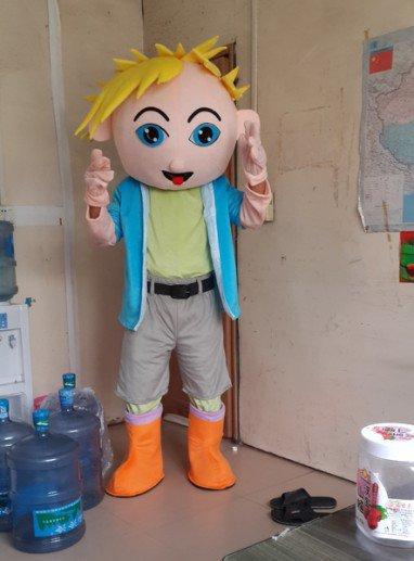 Stupid Boy Walking Doll Cartoon Clothing Cartoon Doll Doll Clothing Direct Cartoon Boy Mascot Costume