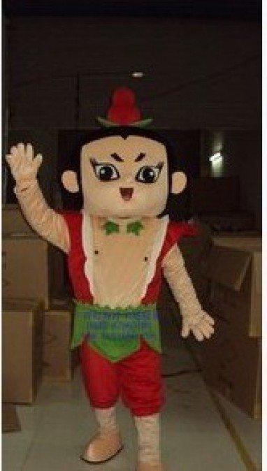 A Raccoon Gourd Cartoon Costumes Walking Doll Clothing Walking Cartoon Doll Clothing Mascot Costume