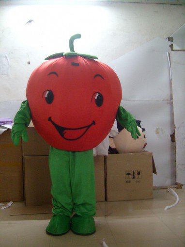 Sprouts Strawberry Fruit Cartoon Dolls Walking Cartoon Clothing Performance Clothing Costumes Mascot Costume