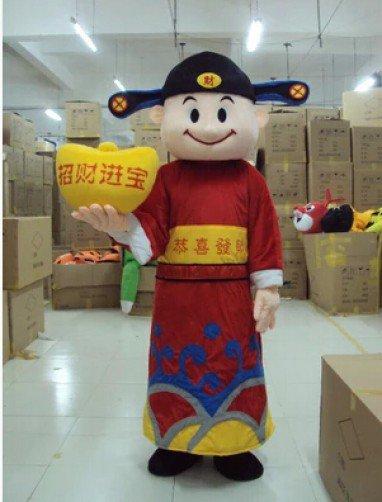 Treasurer Cartoon Doll Doll Clothing Cartoon Costumes Walking Cartoon Dolls Doll Costumes Mascot Costume