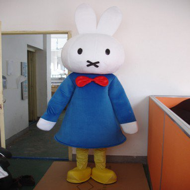 Clever Rabbit Miffy Cartoon Doll Clothing Cartoon Walking Doll Clothing Cartoon Show Props Mascot Costume