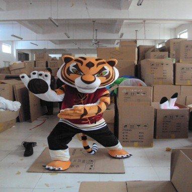 Kung Fu Tiger Walking Doll Cartoon Clothing Cartoon Doll Cartoon Costumes Cartoon Clothing Performance Clothing Mascot Costume