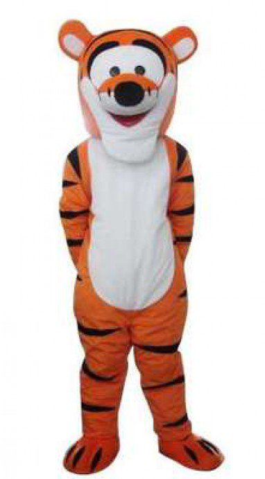 Tigger Cartoon Doll Clothing Cartoon Tiger Costume Dolls Walking Cartoon Dolls Show Mascot Costume