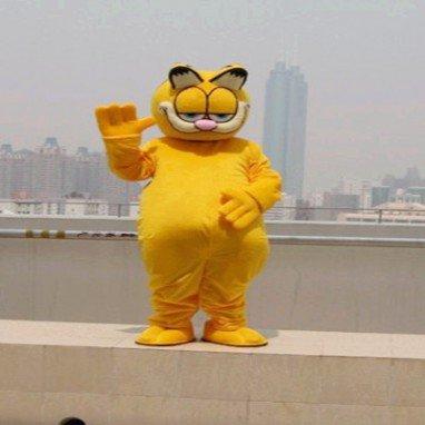 Garfield Cartoon Dolls Clothing Walking Doll Cartoon Costumes Performing Props Cartoon Clothing Cartoon Clothes Mascot Costume