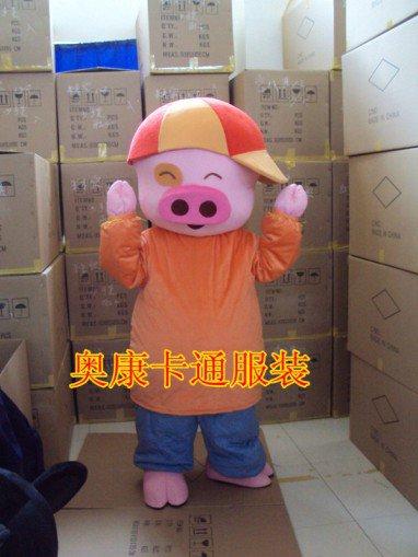 Mcdull Pig Cartoon Dolls Walking Cartoon Doll Clothing Show Props Animation Cartoon Costumes Mascot Costume