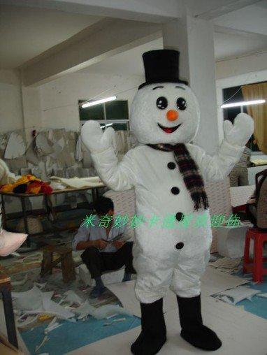 Costumes Walking Cartoon Doll Cartoon Costumes Costumes Cartoon Costumes Performing Snowman Mascot Costume