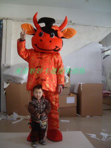 Manufacturers Cartoon Walking Doll Clothing Cartoon Doll Costumes Cartoon Cow Costume Mascot Costume