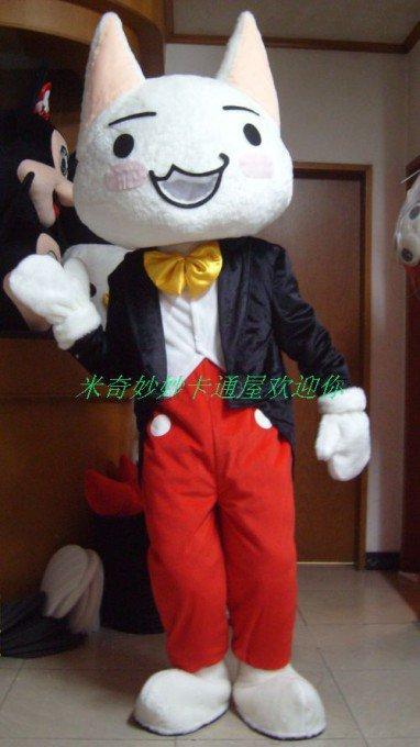 Cartoon Dolls Walking Cartoon Doll Clothing Cartoon Costumes Cat Costumes Mascot Costume