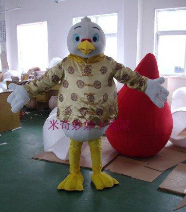 Dolls Walking Cartoon Costumes Cartoon Doll Clothing Doll Clothing Pigeon Show Mascot Costume