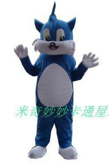 Manufacturers Dolls Walking Cartoon Doll Clothing Cartoon Costumes Cartoon Clothing Blue Cat Mascot Costume