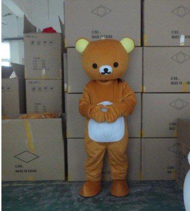 Cartoon Clothing Easily Bear Lazy Bear Cartoon Walking Doll Clothing Doll Clothing Rilakkuma Clothing Mascot Costume