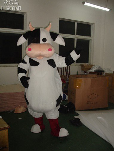 Cows Cartoon Doll Clothing Cartoon Walking Doll Clothing Cartoon Costumes Doll Costumes Mascot Costume