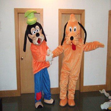 Goofy Yellow Hey Dog Cartoon Dolls Walking Cartoon Doll Clothing Pluto Doll Costumes Mascot Costume