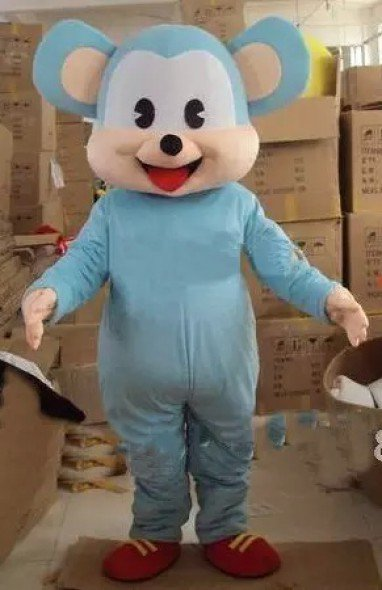 Cartoon Costumes Walking Cartoon Dolls Cartoon Doll Dress Performance Props Cartoon Raccoon Dog Winnie Mascot Costume