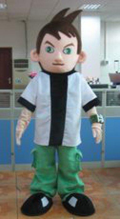 Cartoon Costumes Walking Cartoon Dolls Cartoon Doll Dress Performance Props Eben Kung Fu Kid Mascot Costume