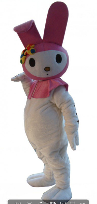 Cartoon Costumes Walking Cartoon Dolls Cartoon Doll Dress Performance Props Rabbit Mascot Costume