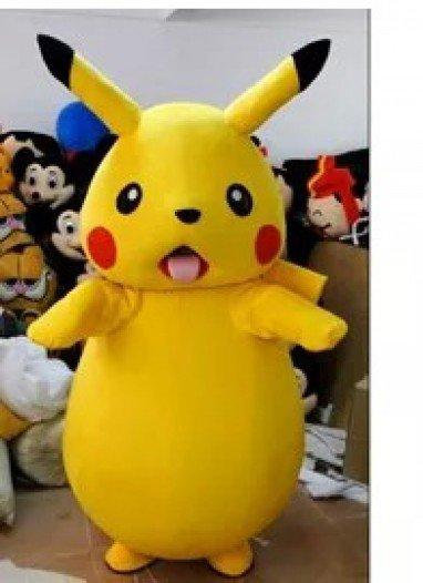 Cartoon Clothing Cartoon Dolls Walking Cartoon Character Pikachu Dress Performance Props Mascot Costume