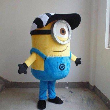 Cartoon Costumes Walking Cartoon Dolls Cartoon Doll Dress Performance Props Anxious Send A Small Yellow House People Mascot Costume