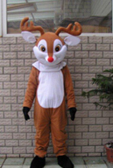 Cartoon Costumes Walking Cartoon Dolls Cartoon Doll Dress Performance Props Deer Mascot Costume