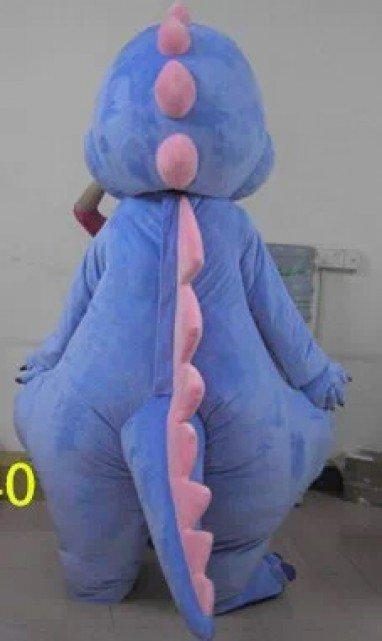 Cartoon Costumes Walking Cartoon Dolls Cartoon Doll Dress Performance Props Dinosaur Blue Dragon Mascot Costume