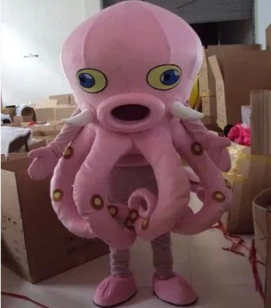 Cartoon Costumes Walking Cartoon Dolls Cartoon Doll Dress Performance Props Octopus Mascot Costume
