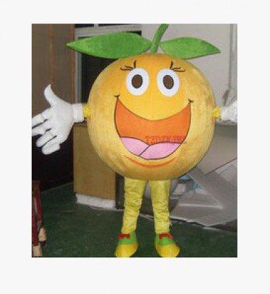Cartoon Costumes Walking Cartoon Dolls Cartoon Doll Dress Performance Props Orange Orange Mascot Costume