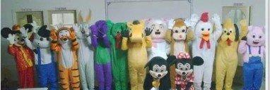 Cartoon Costumes Walking Cartoon Dolls Cartoon Doll Dress Performance Props Zodiac Rat Mascot Costume