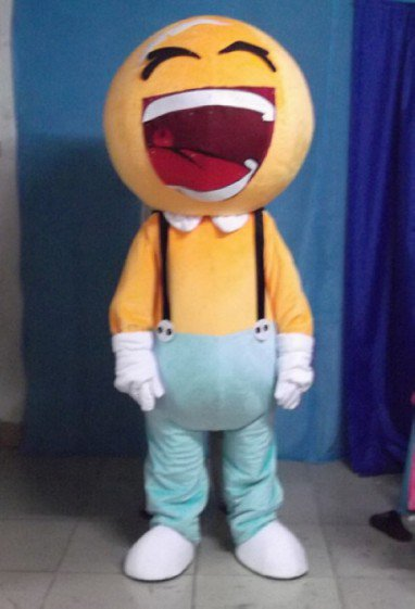 Big Mouth Mobile Fetion Mobile Unicom Cartoon Doll Clothing Cartoon Characters Clothing Propaganda Mascot Costume