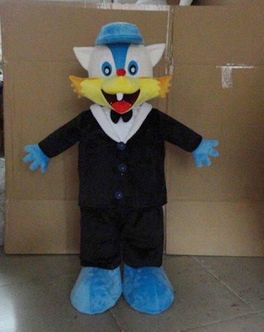 Civet Cats Wear A Wedding Dress Wedding Photography Props Standing Cartoon Doll Doll Clothing Blue Cat Cartoon Costumes Mascot Costume