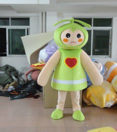 Environmental Protection Plant Sprouts Angel Buds Love Mascot Costume Cartoon Doll Clothes Children Skirts