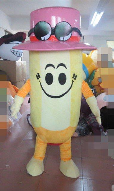 Walking Cartoon Dolls Dress Up Cos Props Cartoon Stationery Love Learning 2B Pencil Cartoon Mascot Costume