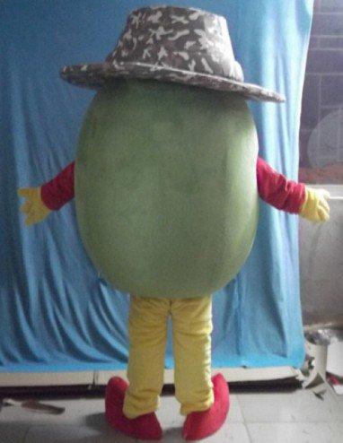Cartoon Clothing Hat Kiwi Fruit Kiwi Cartoon Doll Cartoon Doll Clothing Mascot Costume