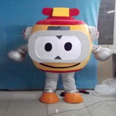 Cartoon Doll Clothing Cartoon Dolls Walking Robot Performances Cos Props Cartoon Dress Mascot Costume