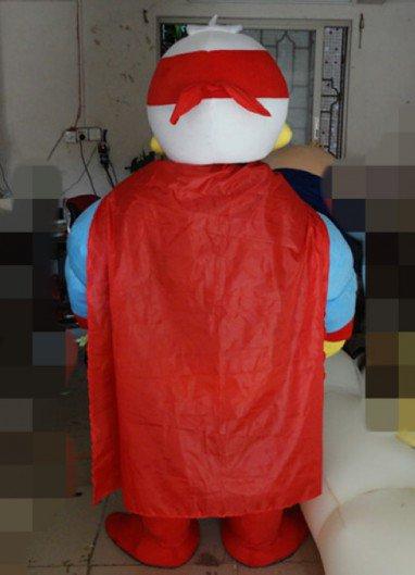Donald Duck Cartoon Costumes Cartoon Super Muscle Justice Paladin Invincible Superman Costume Duck Cartoon Dolls Mascot Costume