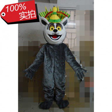 Europe Lailai Animal Cartoon Cartoon Dolls Cartoon Clothing King Cartoon Dolls Clothing Mascot Costume