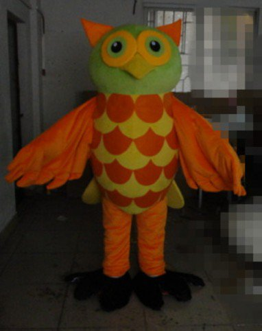 Japanese Books This Anime Cartoon Owl Cos Dress Dolls with Big Eyes Bird Cartoon Clothing Cartoon Clothing Mascot Costume