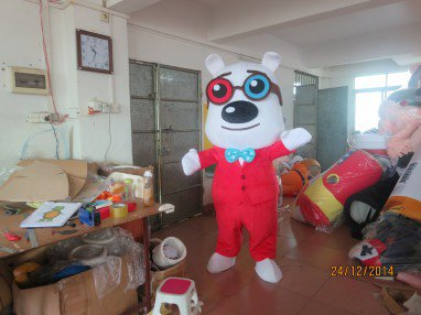 Logo Mascot Final Award Show Mr. Peabody & Sherman Anime Cartoon Dolls Dress Up Dolls Cos Mascot Costume