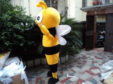 Nursery Open Park Celebration Cartoon Cartoon Dolls Clothing Small Wasp Cartoon Animation Props Cos Clothing Mascot Costume