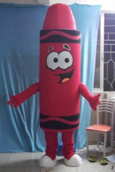 Pencil Drawing Cartoon Doll Clothing Cartoon Dolls Eyes Open Card Through Dark Clothing Mascot Costume