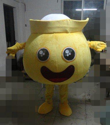 Pink Jar Cartoon Dolls Golden Mitt Can Distribute Leaflets Thursday Circular Cartoon Clothing Mascot Costume
