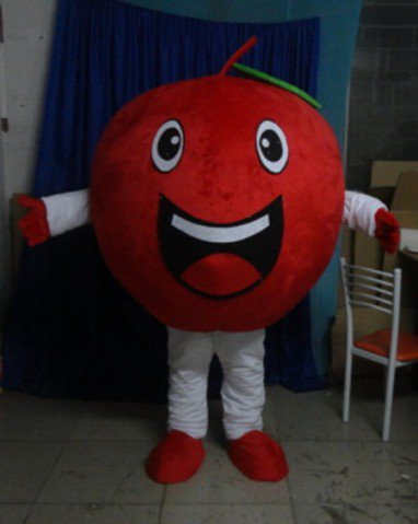 Shaanxi Fuji Apple Apple Cartoon Dolls Cartoon Dolls Cartoon Clothing Red Apple Fruit Plant Mascot Costume