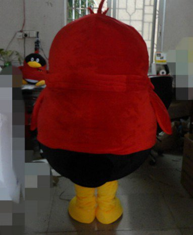 Tencent Qq Members Penguin Mascot Cartoon Dolls Walking Cartoon Dolls Plush Dolls Clothing Mascot Costume