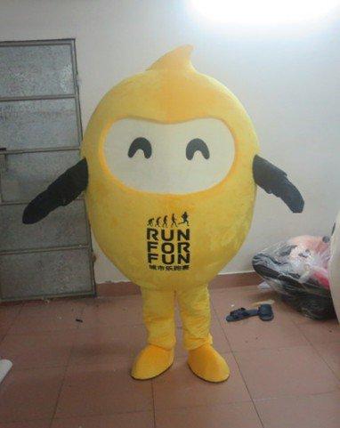 Vanke Custom Mascot Performance Clothing Walking Cartoon Cartoon Music Performances Beans Doll Clothes Mascot Costume