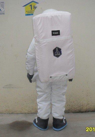 2015 Latest Suit Spacesuit Helmet Spacesuit Backpack Cartoon Doll Clothing Mascot Costume