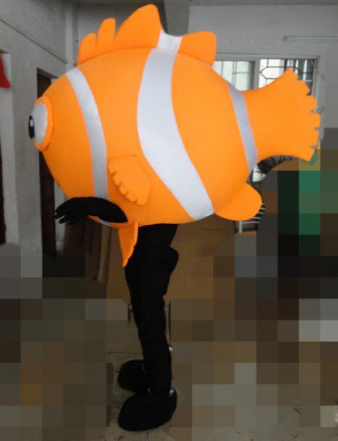Quality Fabrics Cartoon Dolls Plush Dolls Marine Animal Fish Clownfish Cartoon Costumes Stage Clothes Mascot Costume