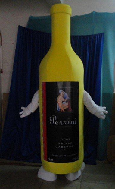 Taiwan and Hong Kong and Macao Cartoon Doll Clothing Wine Bottle Wine Cartoon Clothing Cartoon Doll Mascot Costume